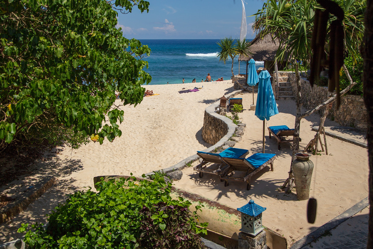 View From Our Room on Lembongan Island, Bali