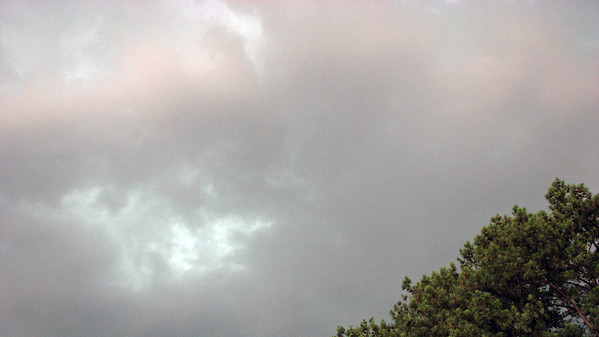 June 15:  Speaking of thunderstorms .  .  .