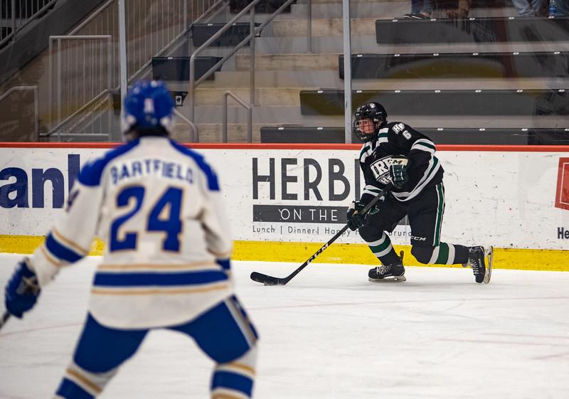 Holy Family Boys Varsity Hockey vs. Academy of Holy Angels, 12/21/19: Ben Reddan '21 (6)