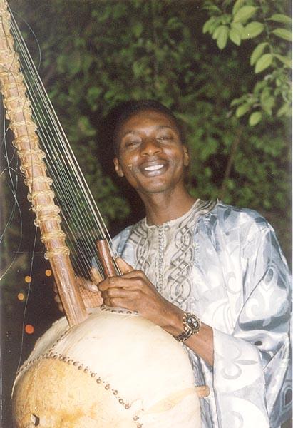 My favorite Korah player in Gambia, a Mandinka Jalibah