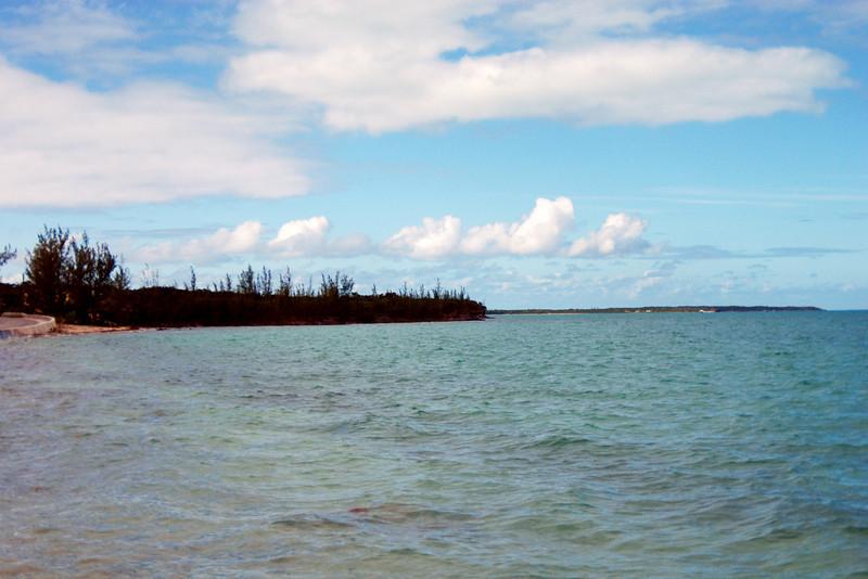 Ocean view on Eleuthera Island