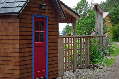 DAY 219 - August 7, 2011 - The Red Door Cynthia Meyer, Tenakee Springs, Alaska