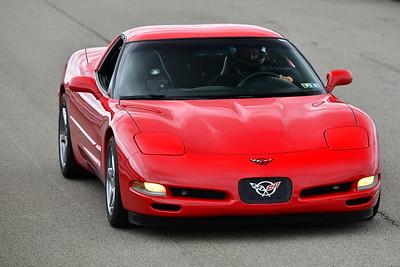 2021 SCCA TNiA  Sep 23 Pitt Adv Red Vette