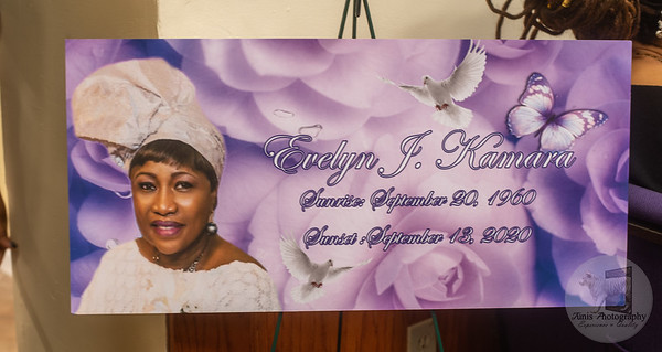 Mrs. Evelyn Kamara Wake/Funeral Services
