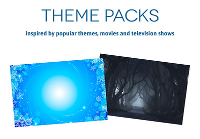 TapSnap Theme Packs