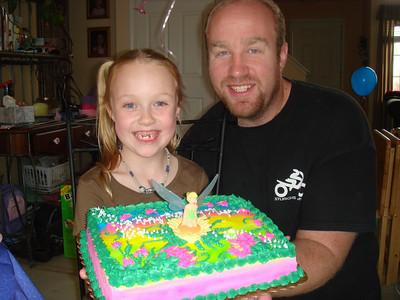 Megans 7th Birthday party