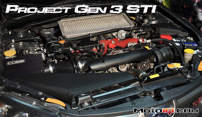 Cobb SF intake Subaru STi MotoIQ dyno test