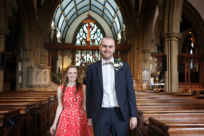 Laura & Chad's Ceremony St Peter's Church