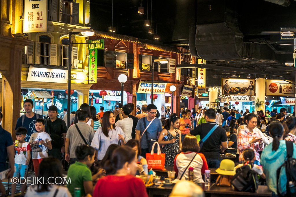 RWS Street Eats 2018 - Malaysian Food Street overview