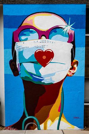"""Mural """"Sarasota Heroes"""", Virtual Ribbon-Cutting"""