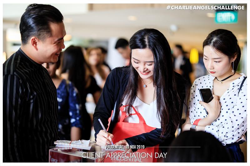 Prudential Client Appreciation | © www.SRSLYPhotobooth.sg