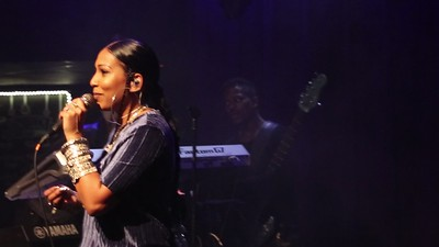 Headliner Melanie Fiona live at the Ardmore Music Hall