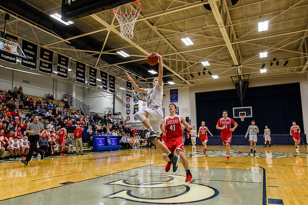 CC Boys Varsity Basketball vs Twin Lakes 2018-2-1