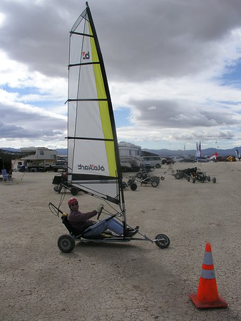 Kite Buggy Trips and Events,NABX Ivanpah Dry Lk. 2006