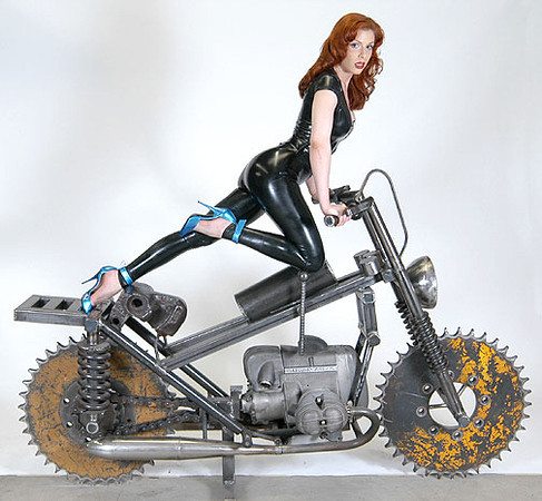 Bruce Gray Motorcycle Sculpture