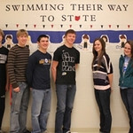 THS Swim team State & District Qualifiers