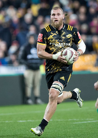 Brad Shields (c) during game 8 of the British and Irish Lions 2017 Tour of New Zealand,The match between  Hurricanes and British and Irish Lions, Westpac Stadium, Wellington, Tuesday 27th June 2017 (Photo by Kevin Booth Steve Haag Sports)  Images for social media must have consent from Steve Haag
