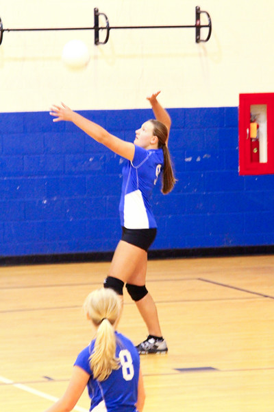 Lady Pioneers vs Horace Mann Eagles (V) 9-10-14