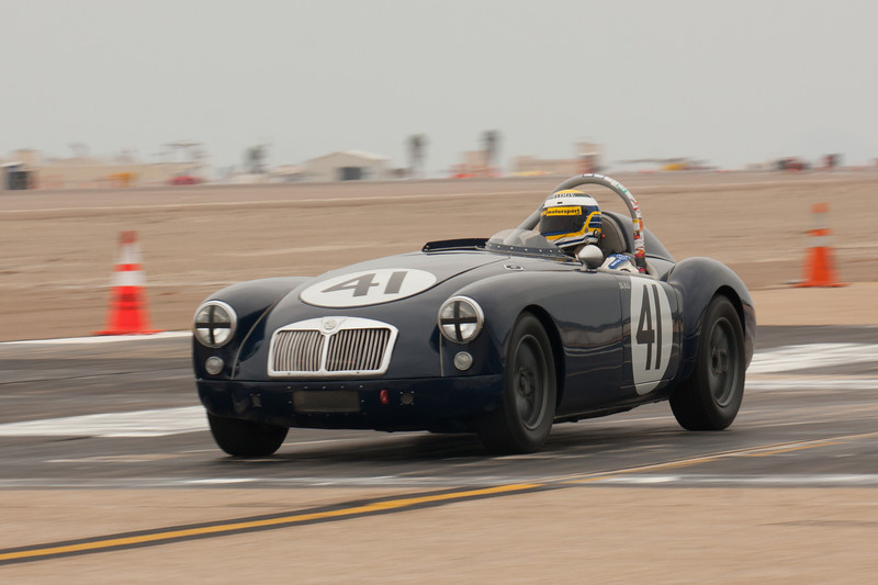Michael Silverman's 1957 MG A.