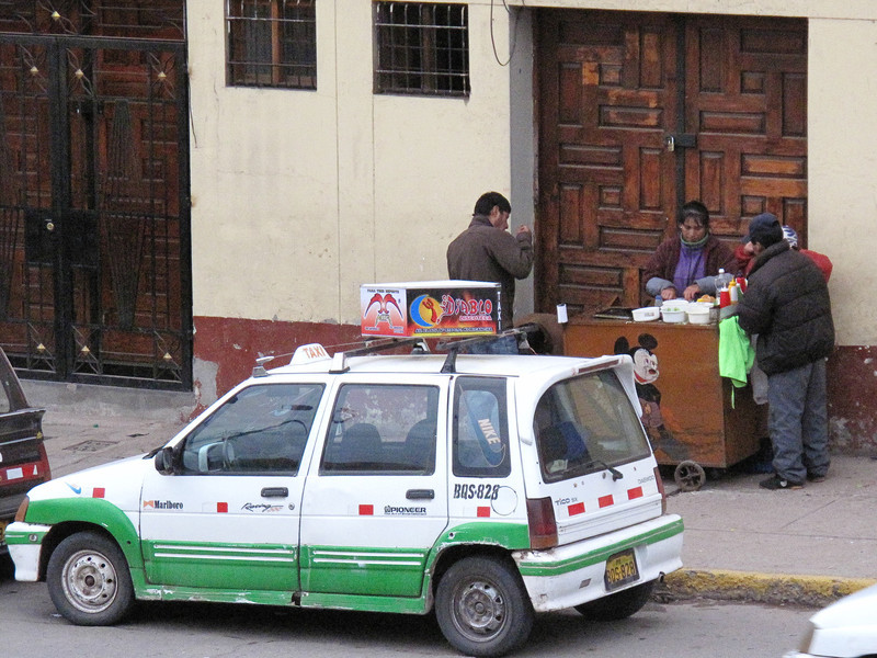 Street Vender - Cusco