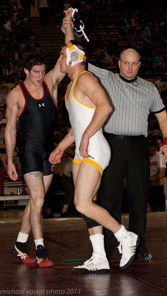 165 lbs Shane Onufer, Wyoming vs Josh Asper, Maryland