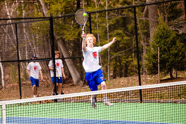 Boys JV Tennis vs. St. Paul's   April 24