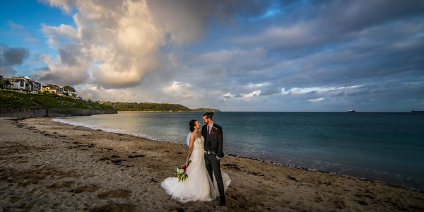 Lea and Shaun The Greenbank Hotel Falmouth September
