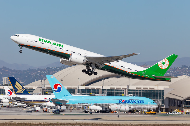 Eva Air 777-300ER - B-16726 - LAX