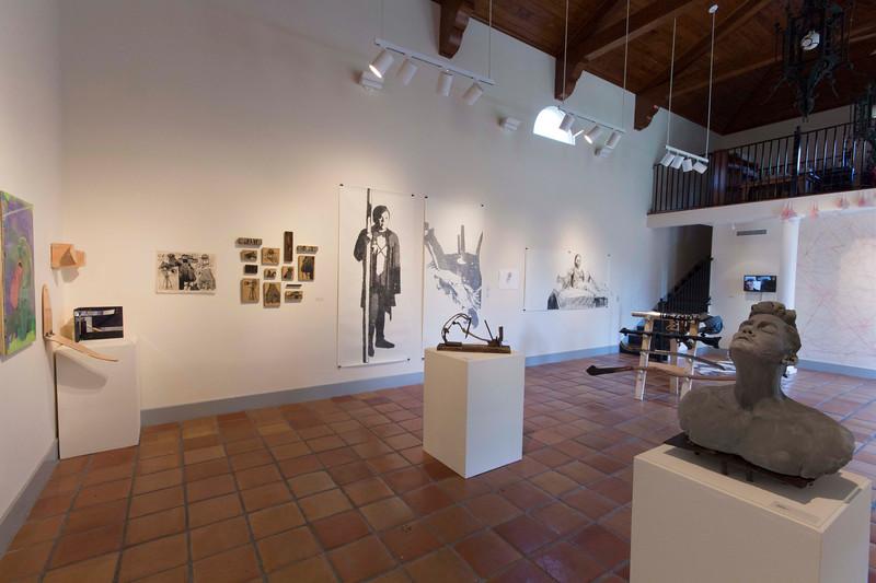 BFA & BA Senior Portfolio Exhibition Spring 2016, Installation View