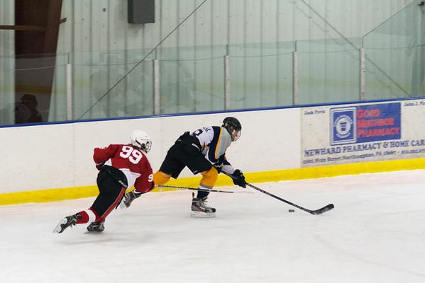 Hatfield Ice Hawks at Lehigh Valley Rebels 11-16-2014