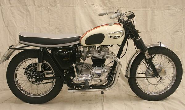 1966 Triumph T120C (Wedlake)