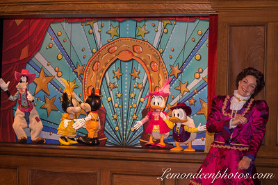 Spectacle de Marionnettes au Lucky Nugget