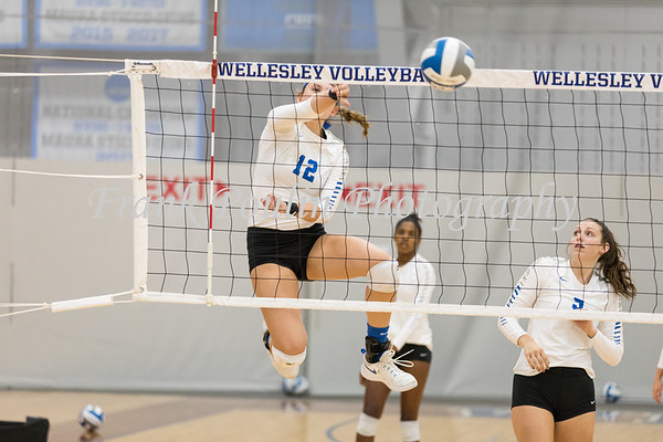 Wellesley College volleyball 9/19/2019