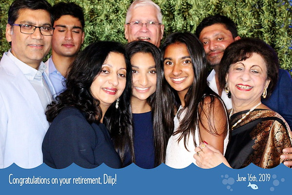 6/16/19 Dilip's Retirement Party