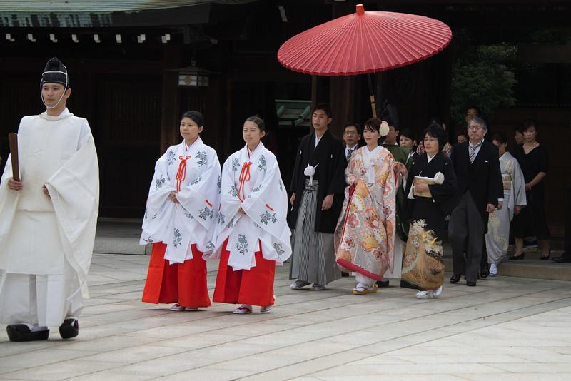 Wedding at Meiji Shrine Tokyo-7112