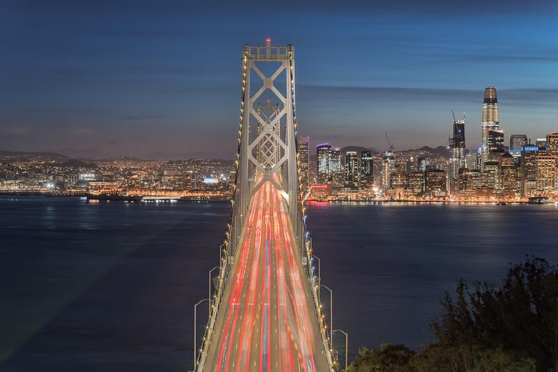 Rushing to the City    San Francisco