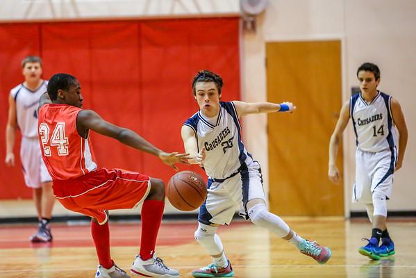 Mar 8 - Basketball - 8th Gr Blue vs SMG Red