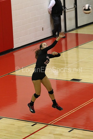 Varsity volleyball v Amanda