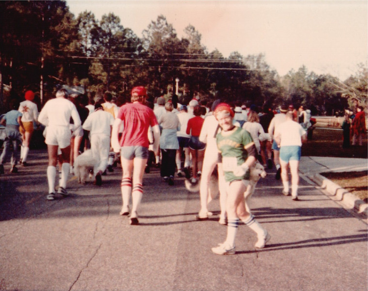 First shot from Big Bucks 20km 1982.