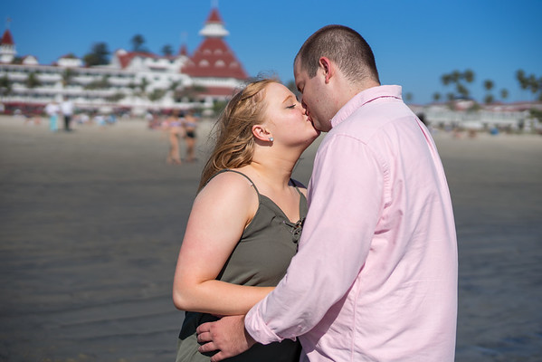 2016/9/16 Coronado Engagement Photos