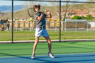 2019-04-13 Dixie HS Tennis - Korbin Suwyn