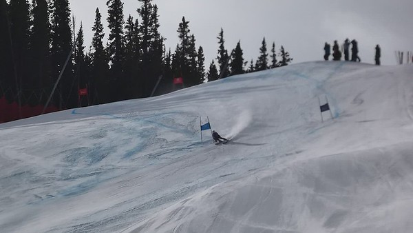 Womens SG National Championship and FIS