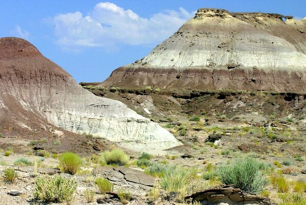 Painted desert, Arizona.