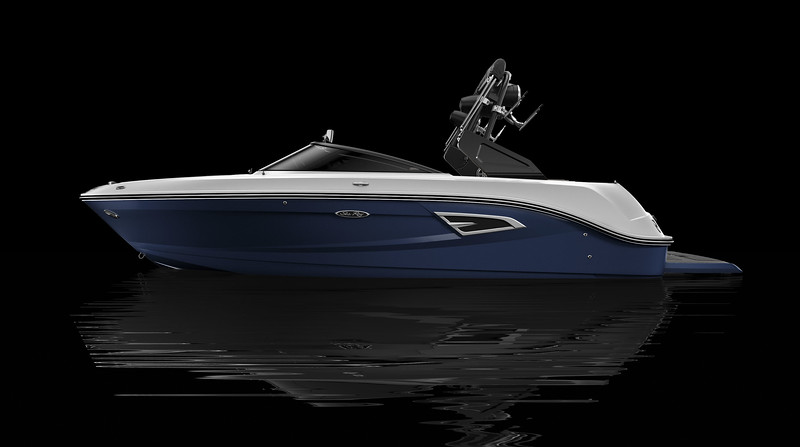 Sea Ray Blue Full Color Hull