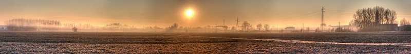 Morning Mist - Near San Damaso, Modena, Italy - December 22, 2011
