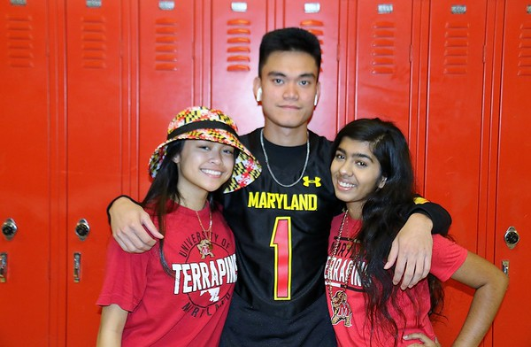 Maryland Day and Halls for homecoming 10-14-2019