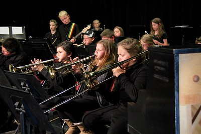 Fisher Musicians Perform At AMHS Music Festival photos by Gary Baker