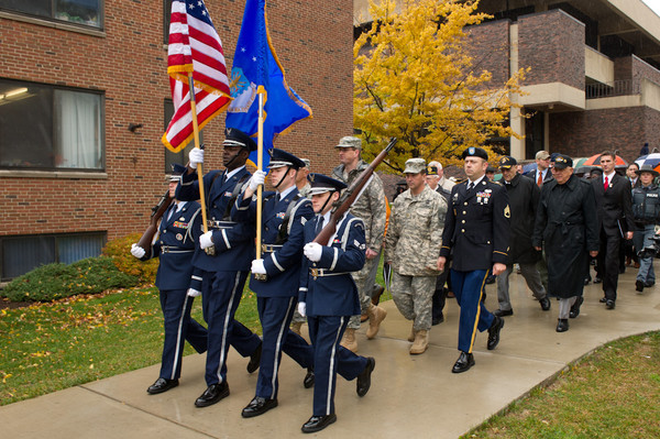 11/10/11 Veteran's Day Silent March