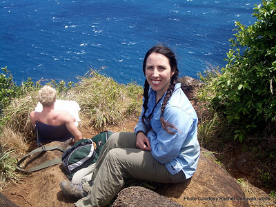 July 2006: Hike on the Na Pali Coast in Kauai