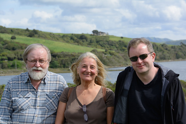 A walk with Sean Blanchfield in Marin County in March 2014